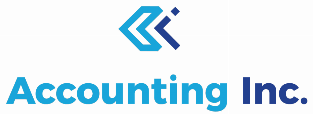 Blue Accounting Inc. Logo   accountants newcastle